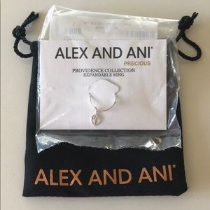 Alex and Ani Providence collection expandable ring